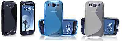 Luxury gel silicon rubber s-line case cover for Samsung Galaxy S3 SIII i9300