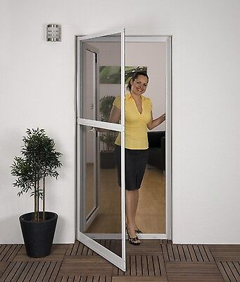 PROFESSIONAL Insect protection Flyscreen door Mosquito screen 100 x 215 cm