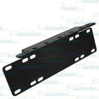 Number Plate Mounting Bracket For Led Light Bar Driving Lights Hid Halogen New