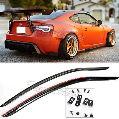 For 13-Up Toyota 86 Scion FRS JDM Window Rain Guard Deflector Visors CLIP ON