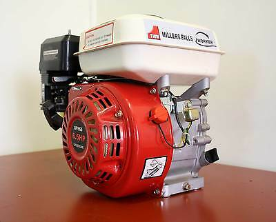 Motor 6.5Hp Stationary Engine Horizontal Shaft Millers Falls NEW Warranty