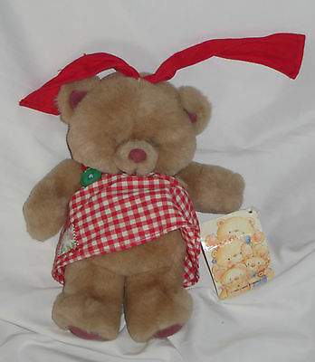 Vintage Forever Friends Toy.Sugar and Spice collection. 1989 with tags girl Bear