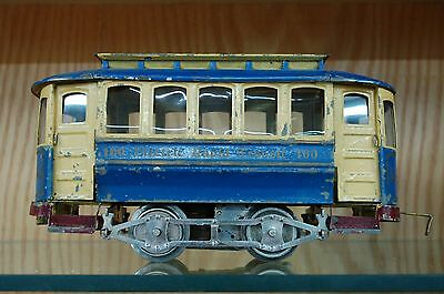Lionel Standard Gauge 100 Trolley - Hard to Find - C6 VGC - Dated 1912 to 1924