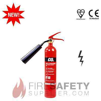 New! 2Kg/2 Kilogram Electrical Fire Extinguisher - Best Price + Free Shipping