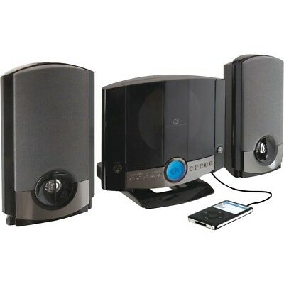 GPX Music System with CD Player, AM/FM Radio, with Remote (HM3817DTBLK)