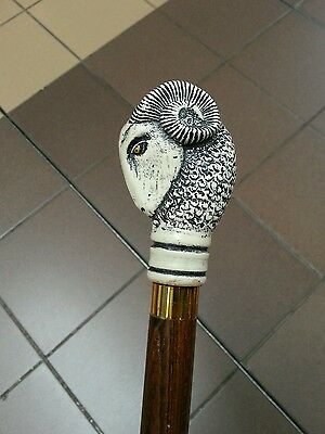 Rams Head Walking Stick Derby Ram