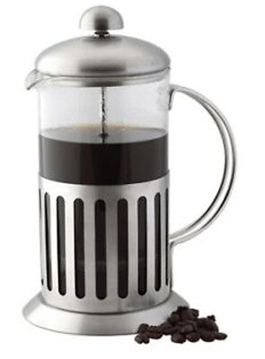 Stainless Steel Cafetiere, French Press, 350ml 1 cup