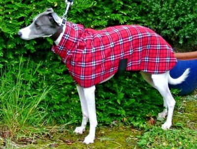 Whippet / Lurcher  Fleece Snood Dog Jumper ,Pyjamas ,Coat In Sizes 14'' To 30''