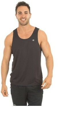 Mens Champion X-Fitness Running Casual Tank Singlet Top Assorted Colours & Sizes