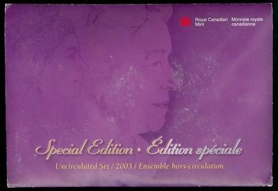 2003 PL Proof-Like 7 Coin Gift Set RCM SPECIAL EDITION 03 RCM Winnipeg W WP Mark