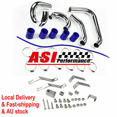 ASI Turbo Cooling Intercooler Pipe Kit + Clamps For Ford XR6 BA BF TYPHOON F6