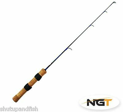 2 x Brand New NGT Carbon Ice Breaker / Kayak Travel Fishing Rods