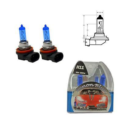 H11 7500K 100W Replacement Fog Light / Lamp Bulbs Mercedes CLS Coupe W219 (04-)