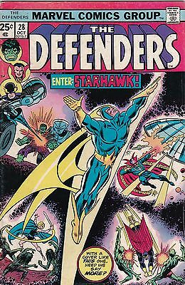 Marvel Comics! The Defenders! Issue 28!