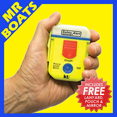 KTI * SAFETY ALERT SA2G * 406MHz PLB DISTRESS RESCUE BEACON 10 YEAR BATTERY