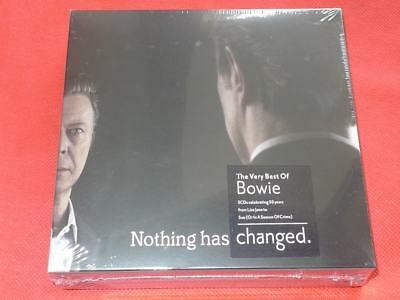 Nothing Has Changed - The Very best of David Bowie 3CD Celebrating 50 Years Box
