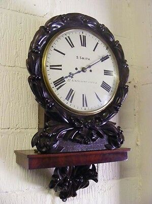 Twin Fusee Drop dial gallery wall clock-striking-Smith Newington Causeway