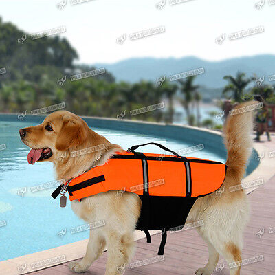 Dog Life Jacket / Floatation Aid For All Dogs Great Quality Uk Ship 6 Sizes Top