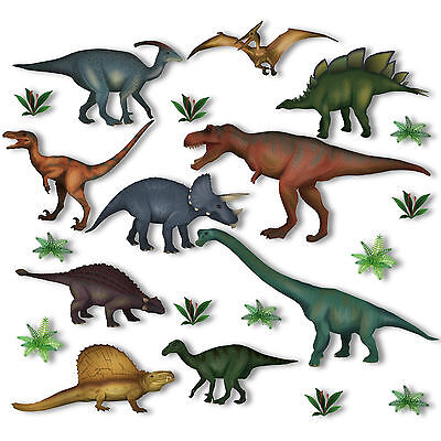 Dinosaur Jurassic Window Clings Static Stickers Out Of This World Decorations