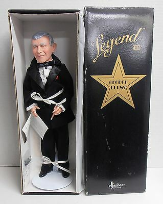 """1996 George Burns Legends Series Doll V539 with COA 16"""" Tall by Effanbee MIB"""