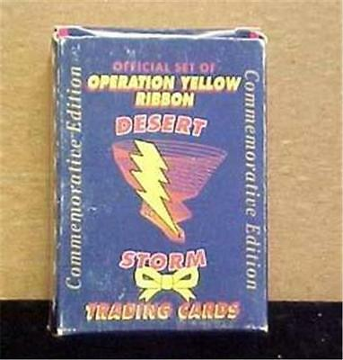 Desert Storm Tradimg Cards-Commemorative Edition-Oper. Yellow Ribbon--10292