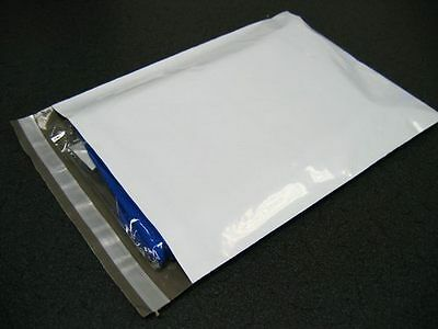 High Quality 1000 Pcs 6x9 White Poly Mailers Envelope Shipping Bags 2.0ML