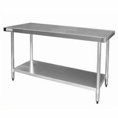 Kitchen Work Bench Stainless Steel with Undershelf Commercial 700x1200x900mm
