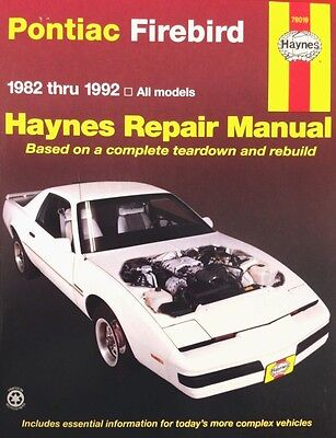 New haynes repair manual ford mustang 1979 to 1993 mercury capri new haynes publication 79019 pontiac firebird repair manual service book 82 92 fandeluxe Images
