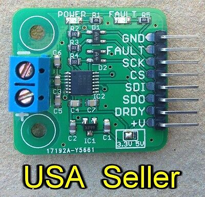 MAX31856 thermocouple breakout board for 3.3V systems (MAX31855 upgrade)