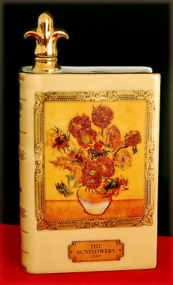 "Flacon en porcelaine Cognac Camus, ""The Sunflowers-1889"""