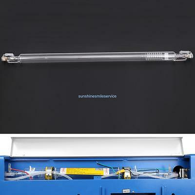 Water Cooling 40W Sealed Glass Laser Tube For CO2 Laser Engraver Cutter