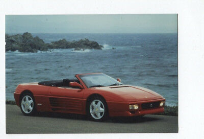 N°6803 /  photo couleur d'epoque  FERRARI 348 spider