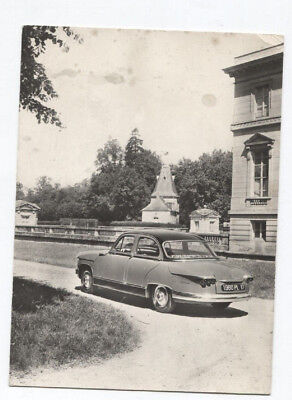 N°7208 /  photo carte PANHARD PL 17   de 1960
