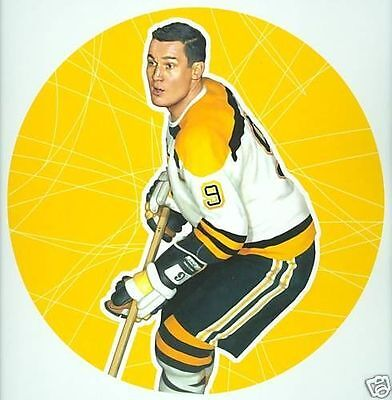 John Bucyk Boston Bruins NHL Hockey Stamp Lithos Lithograph Canada Post