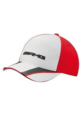 Mercedes-Benz AMG Kid's Cap - White, Red, & Black