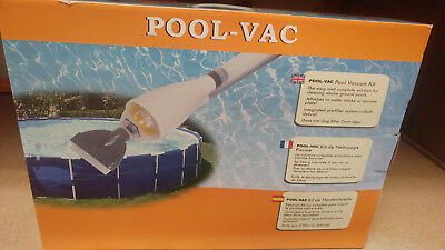 Swimming Pool Vacuum Kit - Pool Pump Driven (see listing) .