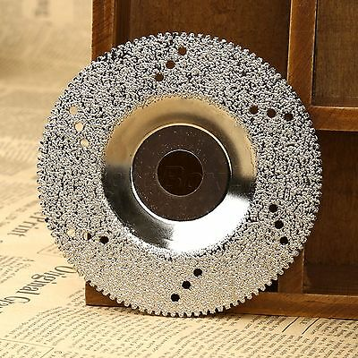 "4"" 100mm Diamond Coated Cutting Disc Saw Blade Grinding Cut Off Wheel DIY Tool"