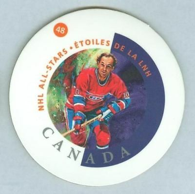 Guy Lafleur 2002 Canada Post Hockey NHL Coaster '02 Montreal Canadiens