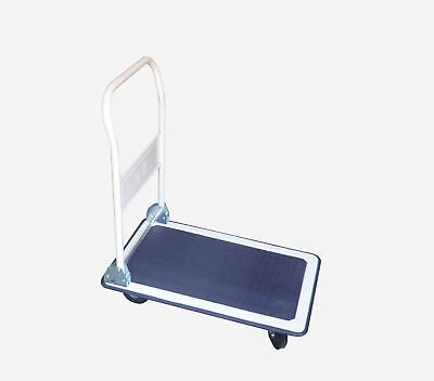 Platform Cart Flat Bed Cart Hand Truck Moving Hand Dolly Transporter Cart