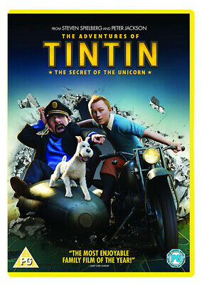 The Adventures of Tintin: The Secret of the Unicorn DVD (2012) Steven Spielberg
