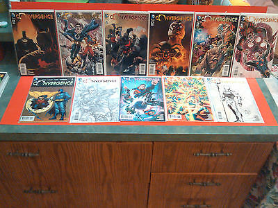 Convergence # 2,3,4,5 & 6 Variant Covers Lot 3