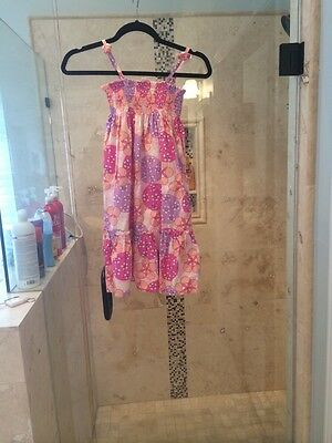 Hanna Andersson girls size 120 (6-8 years) gorgeous summer dress, EUC!