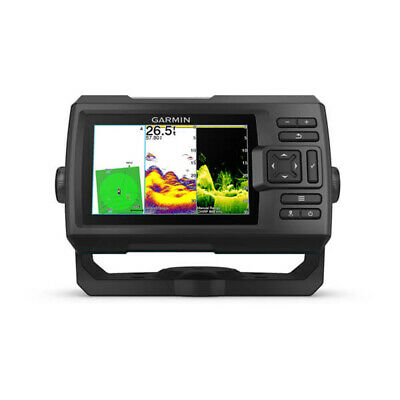 GARMIN STRIKER PLUS 5CV FISHFINDER GT20-TM Transducer & Built in GPS Fish Finder