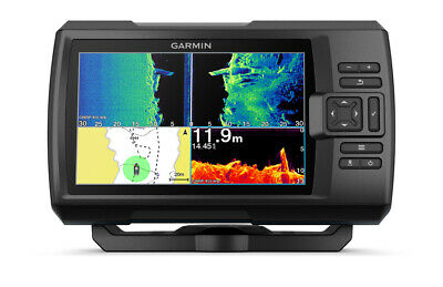 GARMIN STRIKER PLUS 7SV FISHFINDER GT52HW-TM Transducer Built in GPS Fish Finder