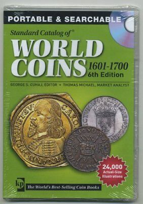 Krause Cd Standard Catalog Of World Coins 1601-1700 6Th Edition