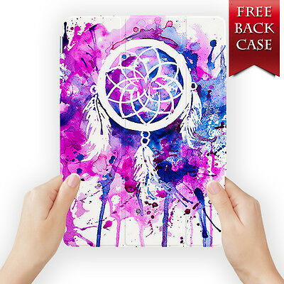 Dreamcatcher Leather Smart Case Cover For Ipad 2 3 4 5 6 Air Mini Retina Display