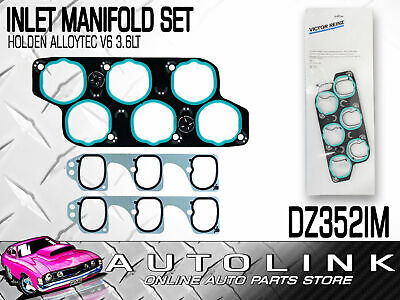 INLET MANIFOLD GASKET SET SUIT HOLDEN COMMODORE VZ VE 3.6lt V6 2004 - ON