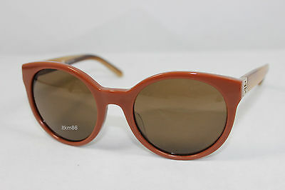 New TORY BURCH TY7079A-1393/73 Chestnut Medium Tortoise / Brown Solid Sunglasses