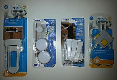 Safety 1st - Assorted Baby Locks - Cabinet and Blind Cord Locks/Latches - NIB