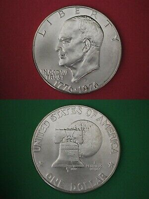1976-S 40% Silver Eisenhower Dollar Brilliant Uncirculated Flat Rate Shipping